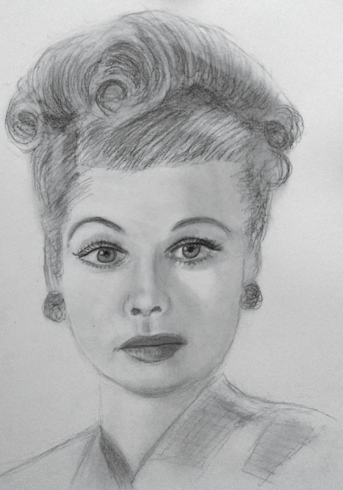 Lucille Ball by paulb